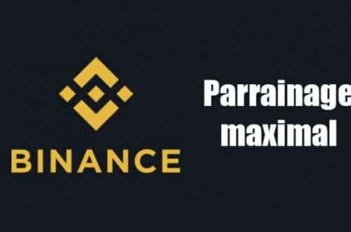 parrainage binance code promo