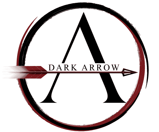 Logo dark arrow cryptomonnaies